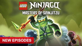 Netflix Box Art for LEGO Ninjago: Masters of Spinjitzu - Season 3